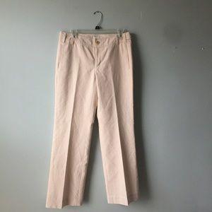 Banana Republic striped wide leg trouser sz 6